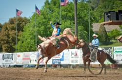 Photo by Nancy Robbins: The Coarsegold Rodeo celebrates its 60th Anniversary this year with numerous events. The rodeo starts May 4 and runs through May 6.