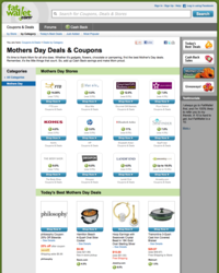 top mother's day deals and coupons