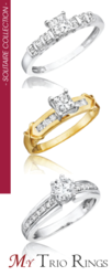 Solitaire Diamond Engagement Rings for 65% off
