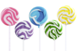 Squiggly Pops Petite Swirl Pops