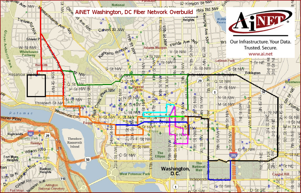 Washington Dc Map Pdf Bnhspine Com