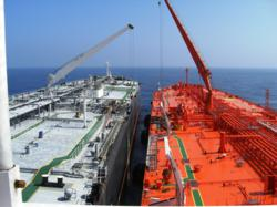 SPT and vessel come together for oil transfer