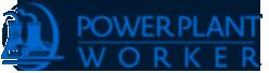 Power Plant Worker Logo