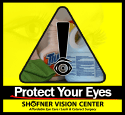 Dr. Shofner Shares Tips to Prevent Eye Damage While Using Household Products