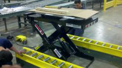 Installing Lift Tables and Rails