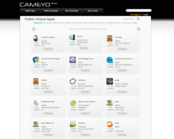 Cameyo Online Library