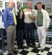 Monster Transmission and Chick-fil-A Presenting the Donation Check to Tony and Tara Carollo