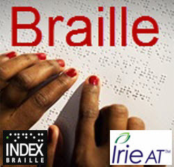 Index Braille Parterns with Irie-AT for the US Market