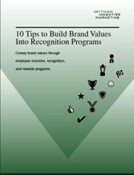 10 Tips to Build Brand Values White Paper
