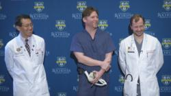 SynCardia, Total Artificial Heart, artificial heart, University of Rochester Medical Center, Dr. H. Todd Massey, Gaetano Orlando, Gates Orlando, Freedom driver, heart failure, heart transplant, donor heart