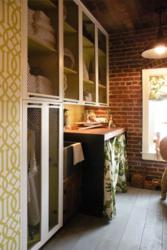 Press Room by Lisa Bakamis Interior Design