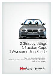 Happy Eyes Car Sun Shade