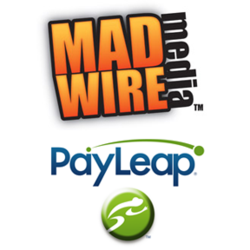 Madwire Media and PayLeap logos
