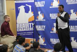 Reality Changers encourages every student to deliver a speech to prepare for graduation night at Reality Changers' America's Finest!
