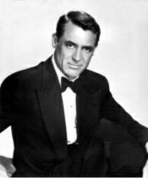 Cary Grant Dressed in Black Tie