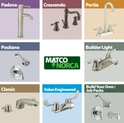 Lead Free Faucet Collections from Matco-Norca