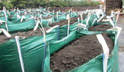 Water retaining top soil