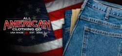 41c631be00 All American Clothing Co. continually strives to release new products that  give their customers more available options in making a purchase that will  ...
