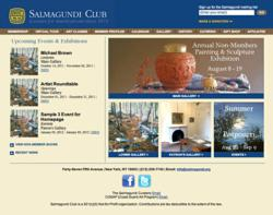 New Salmagundi.org Content Management System Website with Enhanced Functionality by AIMG.com