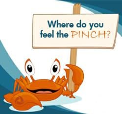 Where do you feel the PINCH?