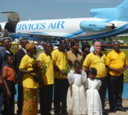 The Scientology Volunteer Ministers Arriving In The Democratic Republic of Congo