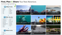 Trekity, a new travel site