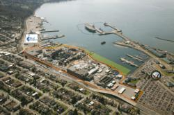 Everett Waterfront Industrial Property - Aerial