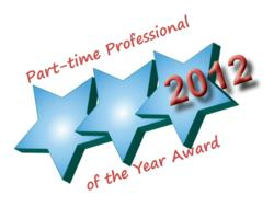 Part-time Professional of the Year Award 2012