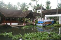 Coconut Lagoon in Kerala