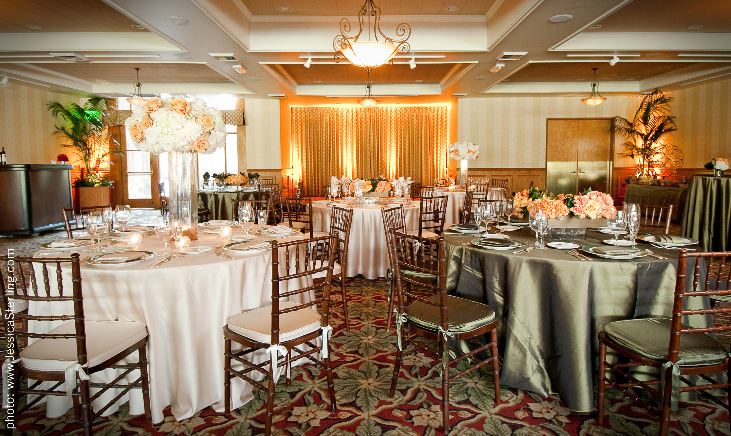 Oakmonts new banquet room design