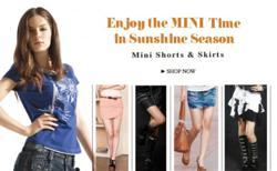 hot shorts,mini skirts