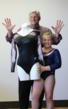 GK Elite Sportswear Delivers Couture Leotard to Lucky Local Gymnast