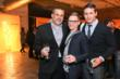 Fred Bernstein, Charles Renfro and Marc Kushner celebrate at Dwell Light & Energy Party