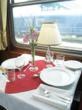 The Luxury Train Club is the concierge for quality rail travel - The Danube Express, Restaurant car table