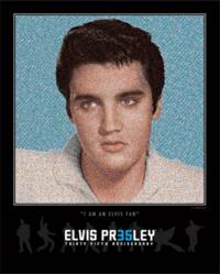 Elvis 35th Anniversary Fan Mosaic