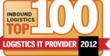Syntelic Solutions Corporation Named an Inbound Logistics Top 100 Logistics IT Provider for 2012