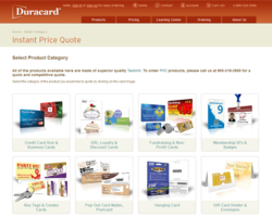 Duracard Instant Price Quote