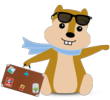 Hipmunk on Holiday