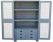 Metal cabinet With Vented Doors