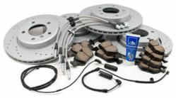 BMW Performance Brake Kit featuring Zimmermann Sport Rotors