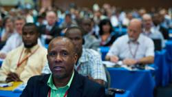 Nigel Coke from Jamaica was one of almost 900 delegates from more than 60 countries attended the 7th World Congress for Religious Freedom in Punta Cana, Dominican Republic.