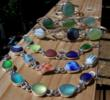 A sample of Santa Cruz Sea Glass creations