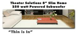 "Theater Solutions Invisible 8"" Subwoofer"