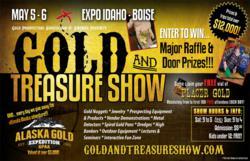 Gold & Treasure Show Flyer