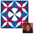 Grand prize winner of the AccuQuilt 2012 barn quilt design contest is Belinda Karls-Nace of Des Moines, Iowa.