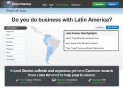 Latin American Shipping Data