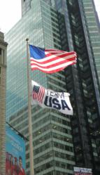 Raide Our Flag Fundraising Campaign US and Team USA Olympic USOC