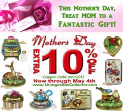 LimogesBoxCollector.com Mother's Day Sale on All Limoages Boxes