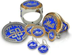 Official jewelry of the NY Mets