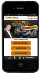 Trighton Interactive Mobile Website